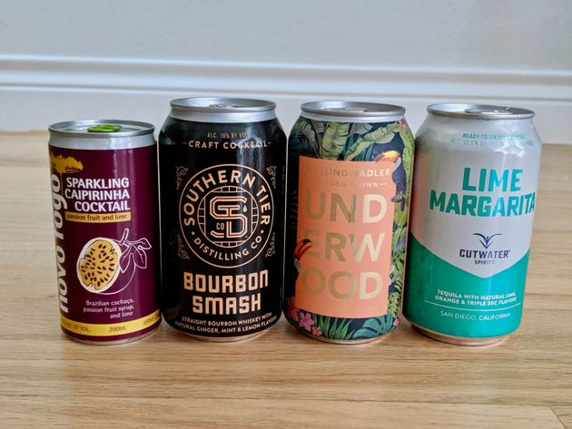 The Best Canned Cocktails, Ranked By