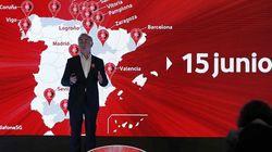 El 5G llega a España este viernes: Vodafone lo lanzará en estas 15