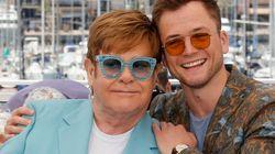 Elton John sorprende cantando 'Your Song' con Taron