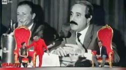Il cantante neomelodico offende Falcone e Borsellino su Rai2. Il conduttore:
