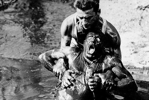 Cena de O Salário do Medo, filme que ganhou a Palma de Ouro de Cannes e o Urso de Ouro do festival...