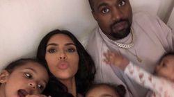 Kim Kardashian Shares Intimate Photo Of 1-Month-Old Baby Psalm