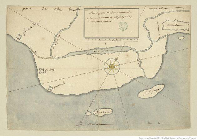 Le lac à la Loutre, alimenté par la rivière Saint-Pierre, se trouvait à l'emplacement...