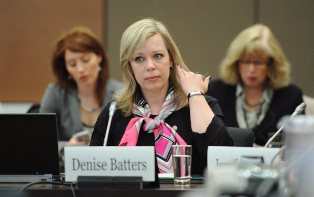 DeniseBattersappears as a witness at a commons health committee on mental illness in Ottawa...