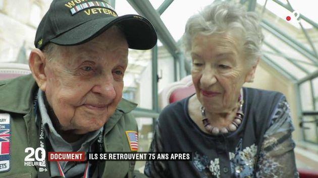 Les émouvantes retrouvailles d'un vétéran américain et d'une Française 75 ans après la