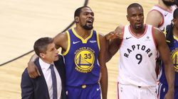 Raptors Players Shut Down Fans Who Cheered Kevin Durant's
