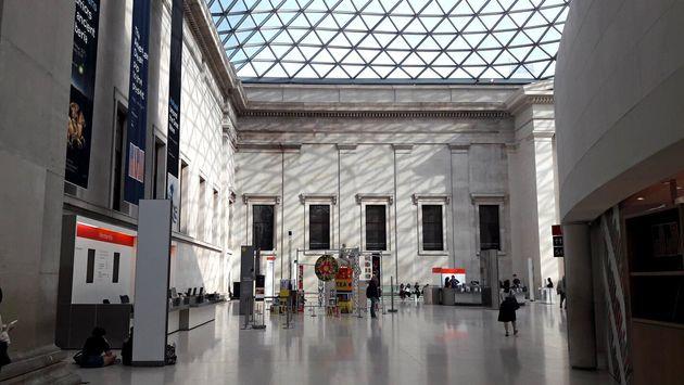 런던에 처음 갔을 때 찍었던 대영박물관 사진