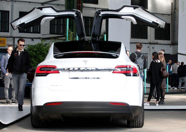 테슬라의 모델 X SUV