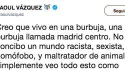 Un exconcursante de 'Operación Triunfo' se muestra muy claro en Twitter: