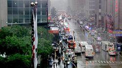 Un mort dans le crash d'un hélicoptère sur le toit d'un immeuble à