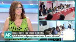 Ana Rosa Quintana se muestra muy crítica con este líder político: