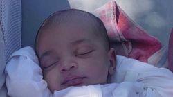 Kim Kardashian dévoile une première photo adorable de son bébé