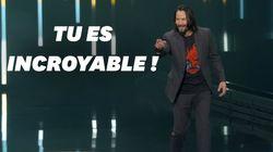Keanu Reeves fait le show pour