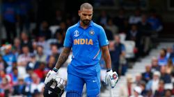 Shikhar Dhawan's Fractured Left Thumb Could Rule Him Out Of World