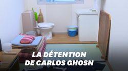 Les images de la prison japonaise de Carlos
