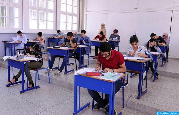 Coup d'envoi des examens de la 2ème année du baccalauréat dans les lycées du