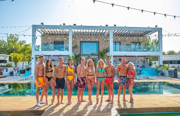 The cast of the first series of Love Island