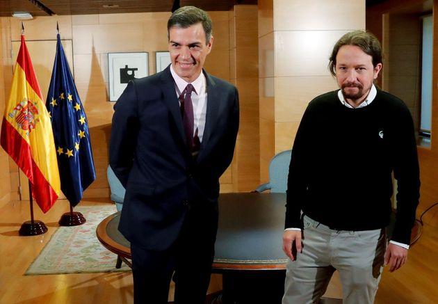 """Iglesias y Sánchez negociarán un """"gobierno de cooperación"""