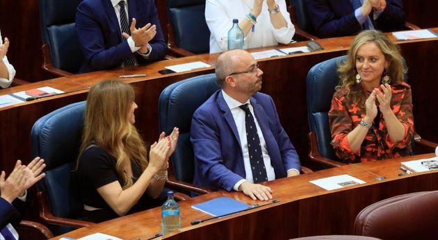 Juan Trinidad, nuevo presidente de la Asamblea de Madrid con los votos de PP y