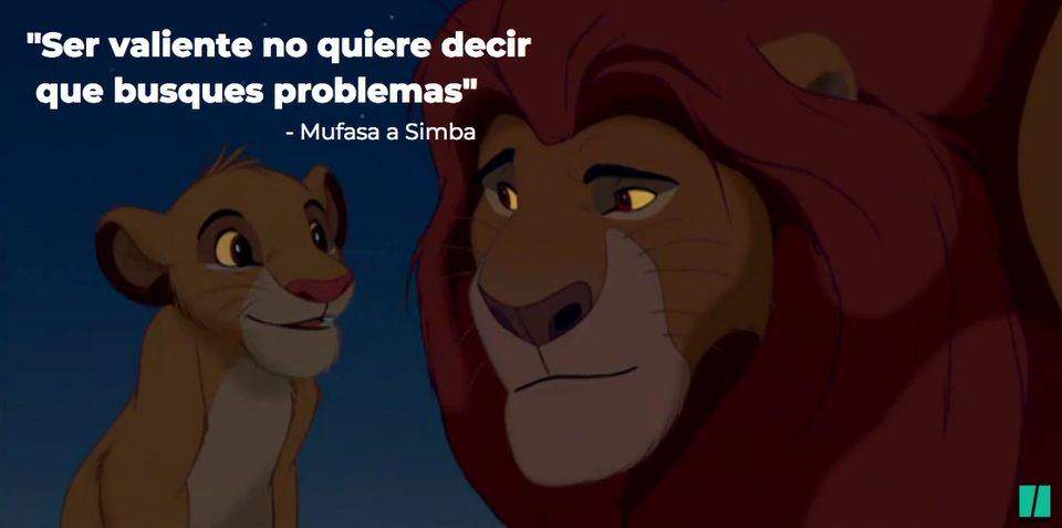 Las Frases Más Inspiradoras De El Rey León El Huffington