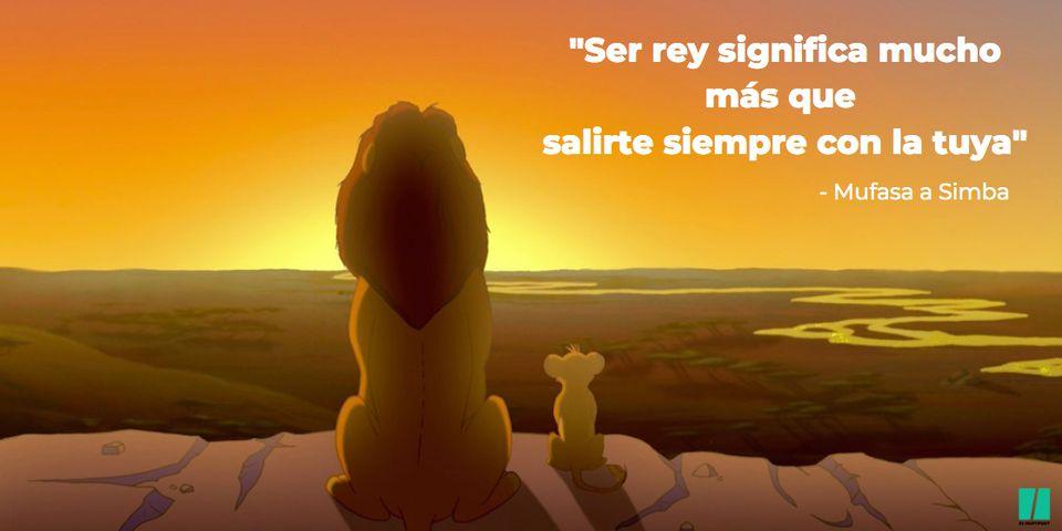 Las frases más inspiradoras de 'El Rey