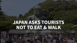 Japanese City Bans Tourists From Eating While