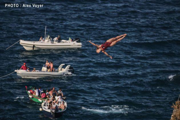 Rien n'est impossible pour la plongeuse de haut vol Lysanne