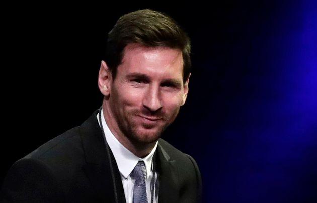 Lionel Messi récompensé par le gouvernement catalan, Barcelone, mai