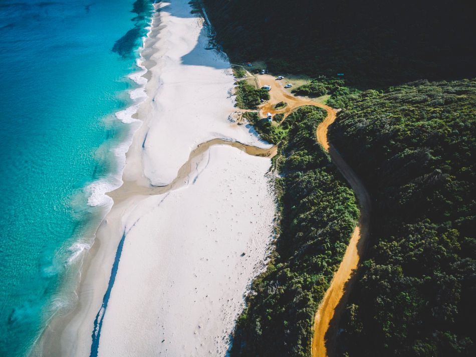 """""""The southernmost point of Western Australia, nothing stands between this beach and Antarctica providing some of the cleanest and clearest water you will ever experience,"""" says @saltywings."""