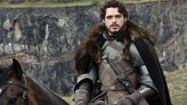"Richard Madden as Robb Stark on ""Game of Thrones."""