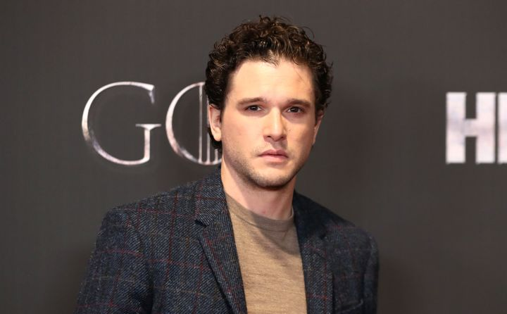 "Kit Harington attending the ""Game of Thrones"" premiere in April."