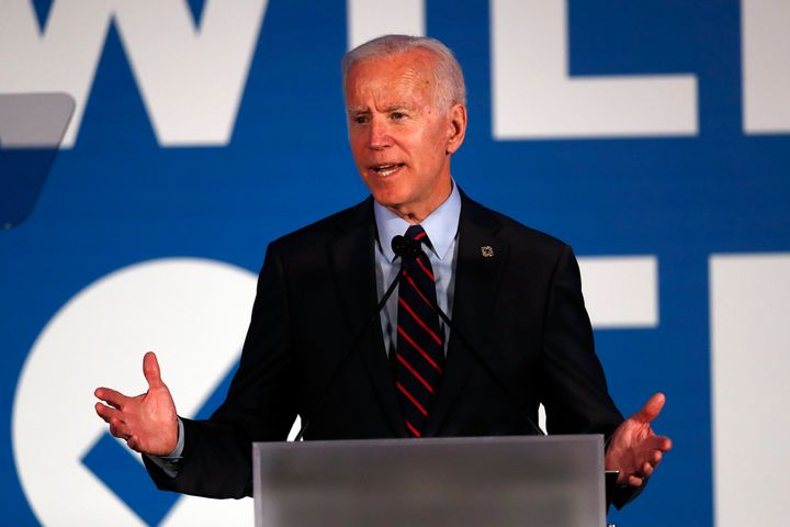 Democratic presidential candidate Joe Biden plans a lengthy speech in Iowa on Tuesday that criticizes President Donald Trump.