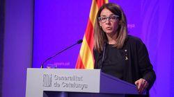La portavoz de la Generalitat se niega a responder preguntas en