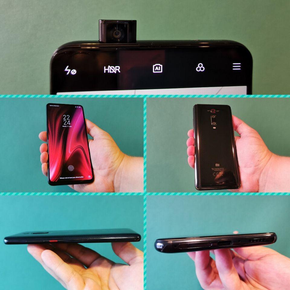 Le Xiaomi Mi 9T est équipé d'une caméra selfie rétractable pour se débarrasser...