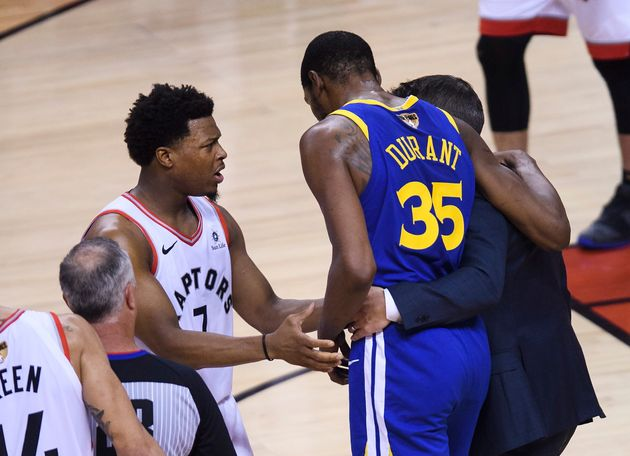 Kyle Lowry Says Cheers For Kevin Durant's Injury Were