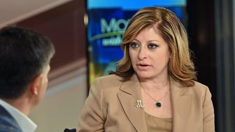 """NEW YORK, NY - MAY 29:  (EXCLUSIVE COVERAGE) Maria Bartiromo hosts """"Mornings With Maria"""" at Fox Business Network Studios on May 29, 2019 in New York City.  (Photo by Slaven Vlasic/Getty Images)"""