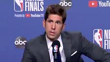Warriors GM Bob Myers Cries Over Kevin Durant Injury: 'You Can Blame Me' 5cffc1d2240000f31585ab14