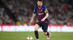 Lionel Messi sportif le mieux payé en