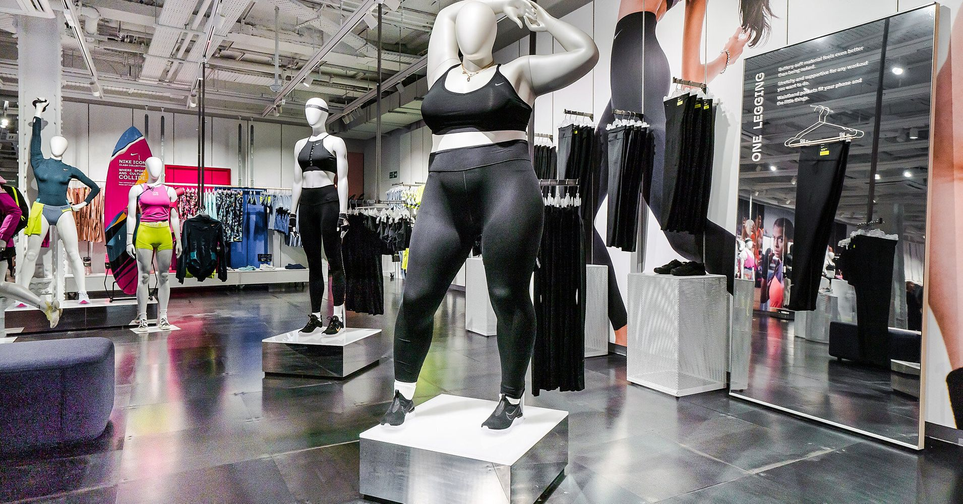 952c89c403572 Telegraph's Fatphobic Take On Nike's Plus-Size Mannequins Receives Backlash    HuffPost Life