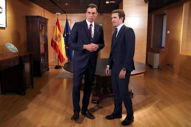 Casado no apoyará la investidura de Sánchez, ni se