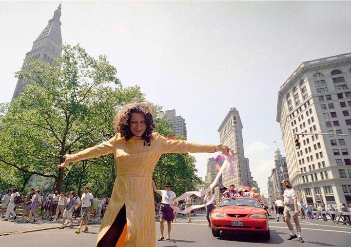 Sylvia Rivera in 1994.