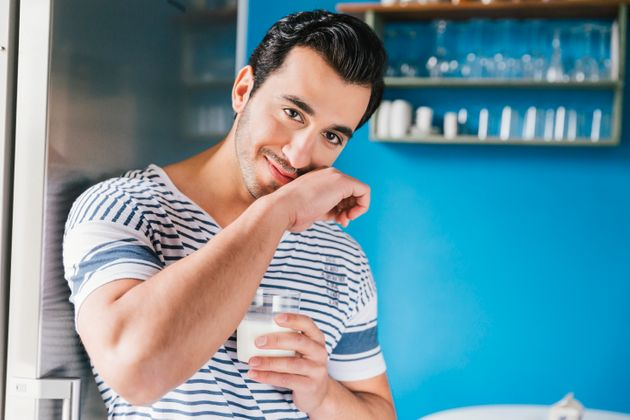 A lot of men think drinking breast milk will help them bulk up. (Disclaimer: the man in this stock image...