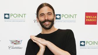 NEW YORK, NEW YORK - APRIL 08: Jonathan Van Ness attends Celebrities Support LGBTQ Education at Point Honors Gala New York at The Plaza Hotel on April 08, 2019 in New York City. (Photo by Cindy Ord/Getty Images  for Point Honors Gala New York 2019)