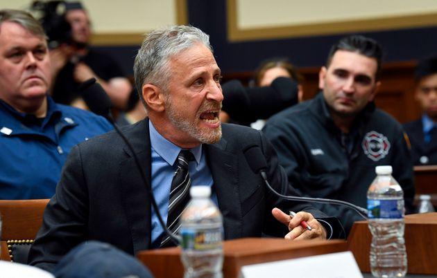 Watch Comedian Jon Stewart Tear Apart The US Congress Over 9/11 Victims'