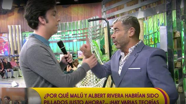 El duro enganchón de Jorge Javier con El pequeño Nicolás en 'Sálvame':