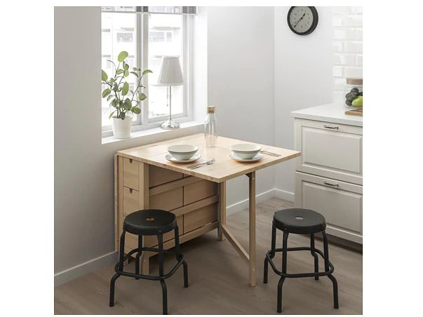 15 Dining Tables For Super Small Spaces That Ll Still Let You Host Huffpost Life