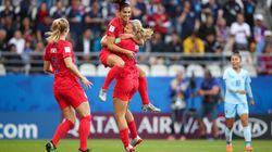 Les Américaines étrillent la Thaïlande avec 13 buts
