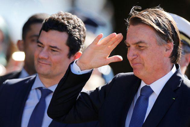 Bolsonaro manteve o silêncio sobre o vazamento de mensagens envolvendo Moro mesmo após se...