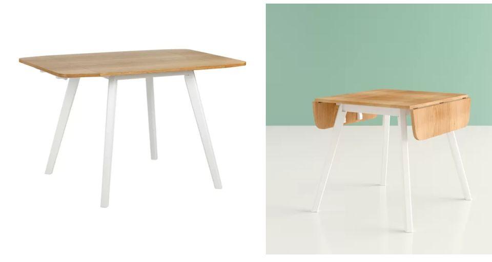 Phenomenal 15 Dining Tables For Super Small Spaces Thatll Still Let Creativecarmelina Interior Chair Design Creativecarmelinacom