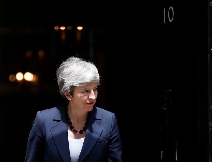"""""""Standing by is not an option,"""" May said late Tuesday. """"Reaching net zero by 2050 is an ambitious target, but it is crucial that we achieve it to ensure we protect our planet for future generations."""""""